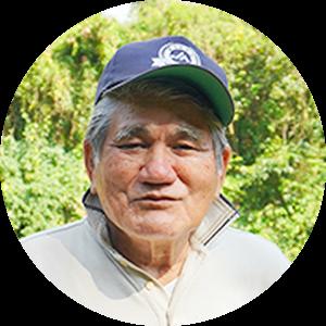 今井秀文さん 知名町シマ桑生産組合 組合長