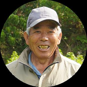 清水東順さん知名町シマ桑生産組合 監事