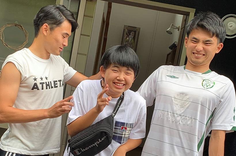 疋田家の仲良し三兄弟