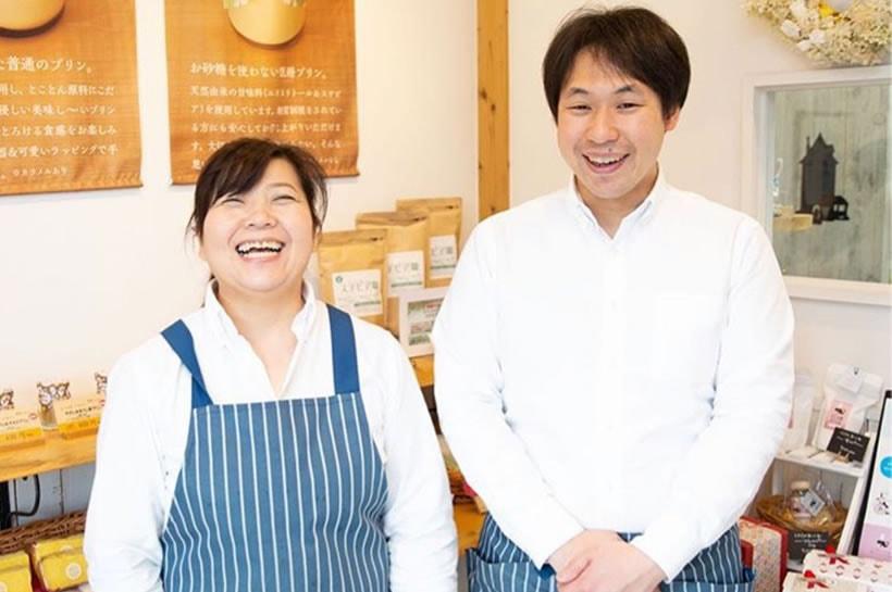 一緒に店を運営する貝田さんは元作業療法士
